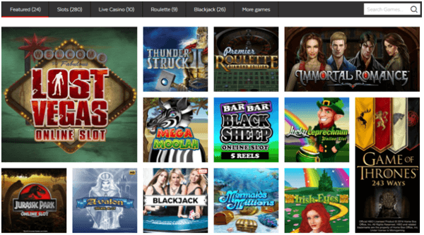 32 Red Casino Games