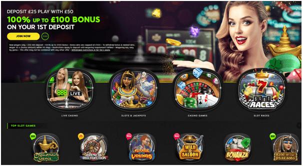 888 Casino UK