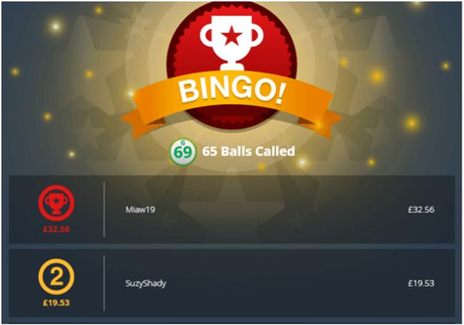 Bingo at 32 Red Online Casino