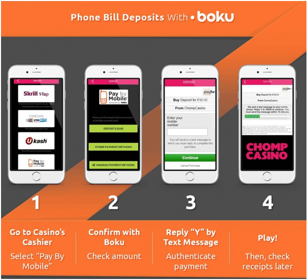 Boku payment options at online casinos