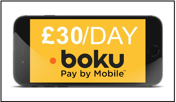 Boku deposits has limits in UK casinos