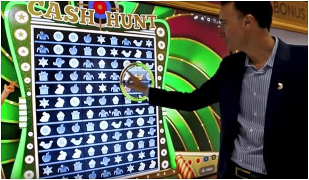 Cash Hunt Bonus game