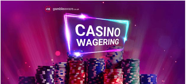 Casino wagering