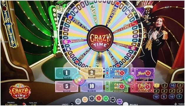 Crazy Time Bonus Game