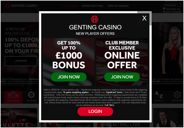 Dual Play Roulette- Play at Genting Casino UK