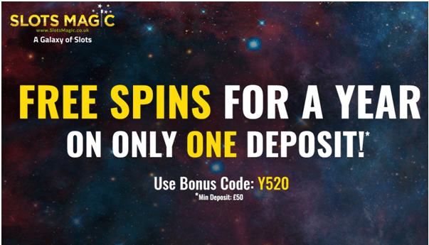 Free Spins Slotsmagic