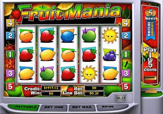 Fruit Machines Slot Game