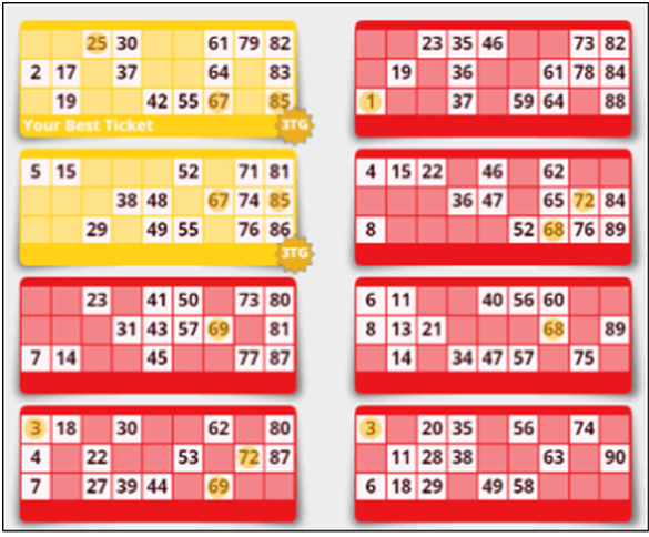 How to play Bingo at 32 Red Online Casino- Buy Ticket