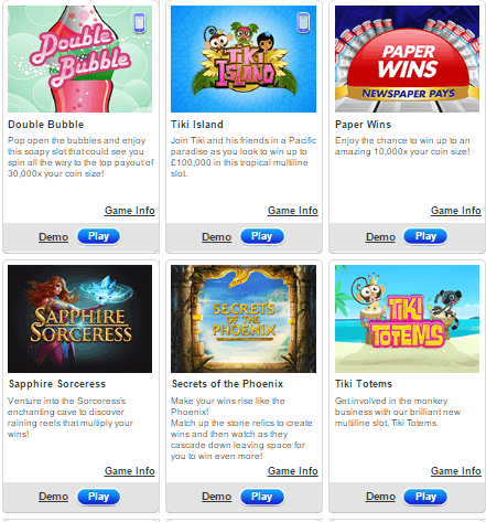 Jackpot Joy Casino Games