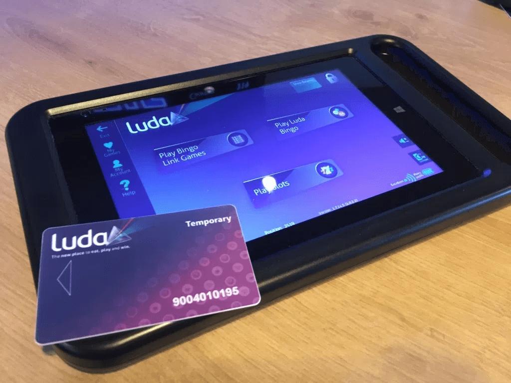 Luda bingo tablet