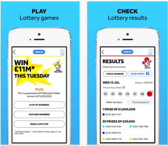 National Lottery UK App