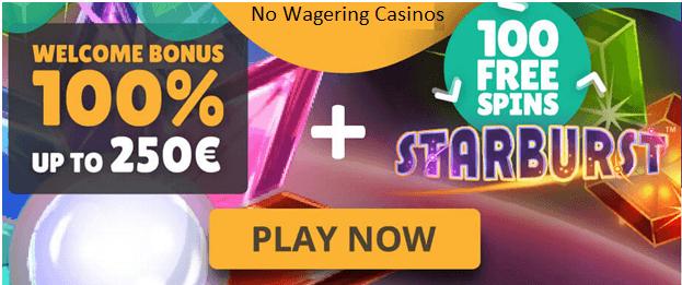 No-wagering-casinos