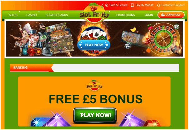 Pay by Mobile- Play Slots at UK online casinos