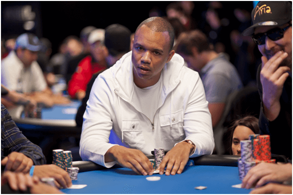 Phil Ivey Poker face