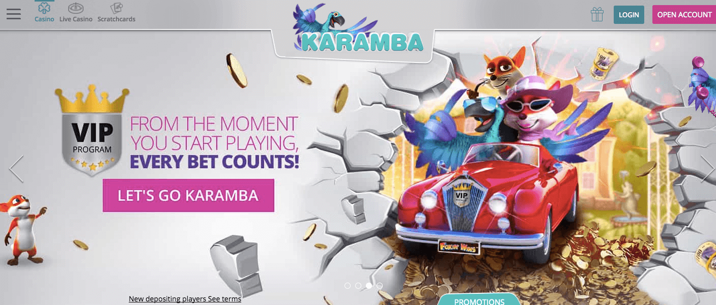 Karamba Online Casino Review 2017