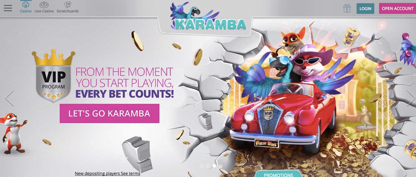 Karamba Online Casino Review