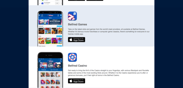 Download the Betfred apps!