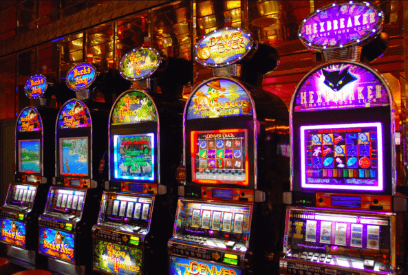 Slots, fun and rewarding.