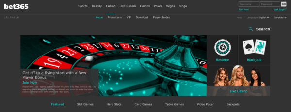 Bet365, a Great Online Casino