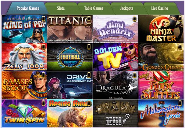Slotsmagic Games