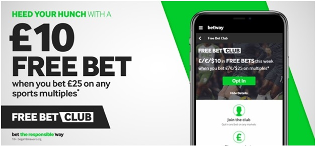 Betway bookie app