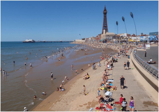 What are the five best cities in UK for Gaming- Blackpool