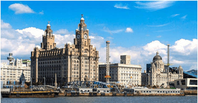 What are the five best cities in UK for Gaming- Liverpool