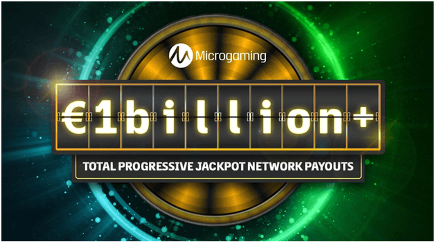 Where to find the last hit Progressive Jackpots