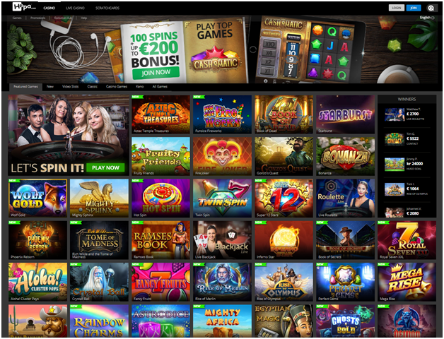 hopa casino games